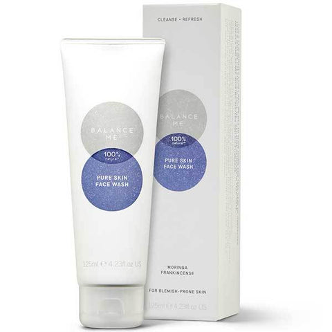 Balance Me Pure Skin Face Wash, 125ml - *new packaging* pore minimising