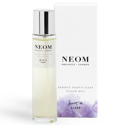 Neom Organics PERFECT NIGHT'S SLEEP Pillow Mist, 30ml  - Scent To Sleep™ - kids & family friendly - alice&white sthlm