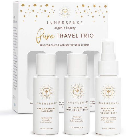 Innersense PURE TRAVEL TRIO, 3 x 59ml - for fine to medium hair