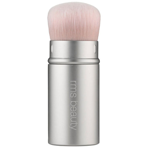 "RMS Beauty Kabuki Polisher Retractable Brush - to apply RMS Luminizer, ""Un""Cover-up, Contour bronze to achieve that 'Instagram strobing' effect"