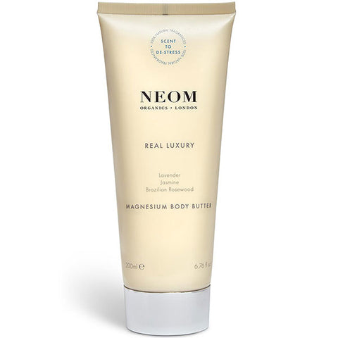 Neom Organics Real Luxury Magnesium Body Butter, 200ml - Scent To De-Stress