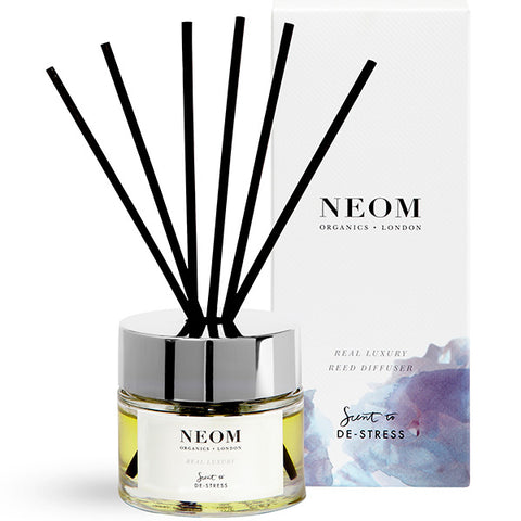 Neom Organics REAL LUXURY Reed Diffuser, 100ml - Scent To De-Stress - alice&white sthlm