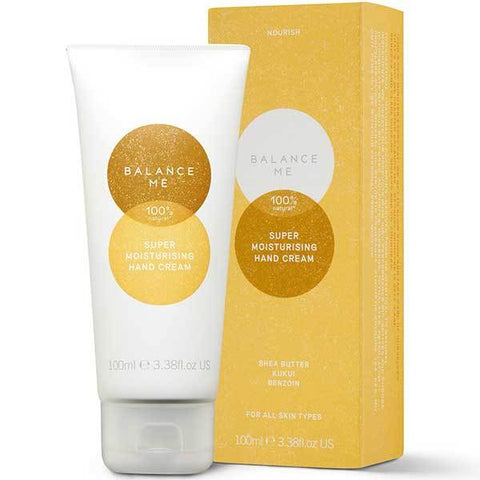 Balance Me Super Moisturising Hand Cream, 100ml - NOURISH