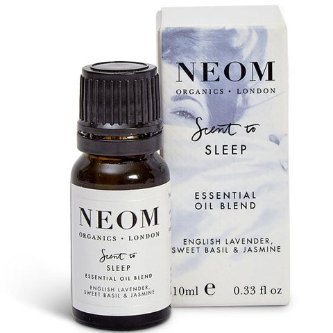 Neom Organics SCENT TO SLEEP Tranquillity Essential Oil Blend, 10ml - to help you relax & prepare for sleep - use w/ Wellbeing Pod or bath & sauna