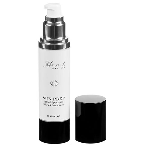 Hynt Beauty SUN PREP Broad Spectrum SPF25, 50ml - anti-inflammatory & anti-oxidant rich, organic, chemical free, transparent glow primer