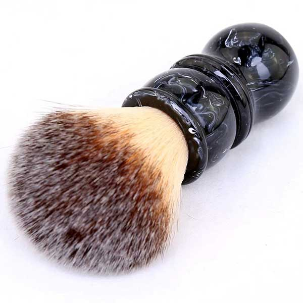 KaliFlowerOrganics Vegan Shaving Brush black birch