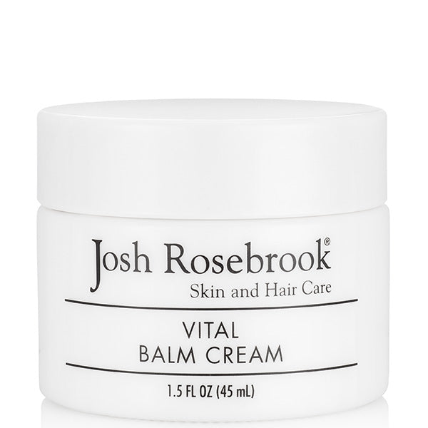 Josh Rosebrook Vital Balm Cream, 45ml - ideal during cold weather, multi-benefit moisturizer, supports true skin health by facilitating maximum cellular hydration, repair & restoring vitality