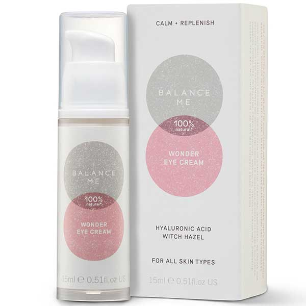 Balance Me Wonder Eye Cream, 15ml - triple-action to lift, brighten & reduce fine lines - alice&white sthlm
