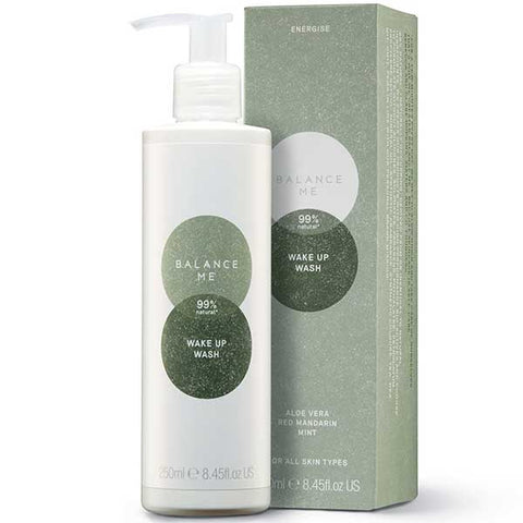 Balance Me Wake Up Wash, 250ml - ideal for dry hands & body skins