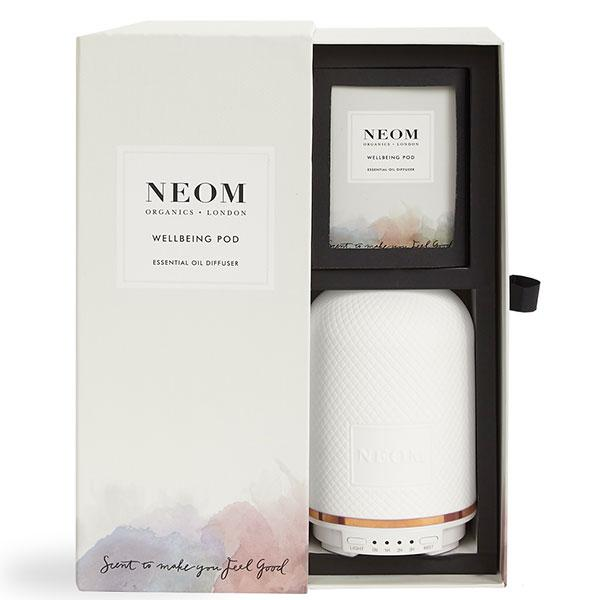 Neom Organics WELLBEING POD Essential Oil Diffuser - humidifies the air around you whilst transforming your home with natural scent of wellbeing boost - alice&white sthlm