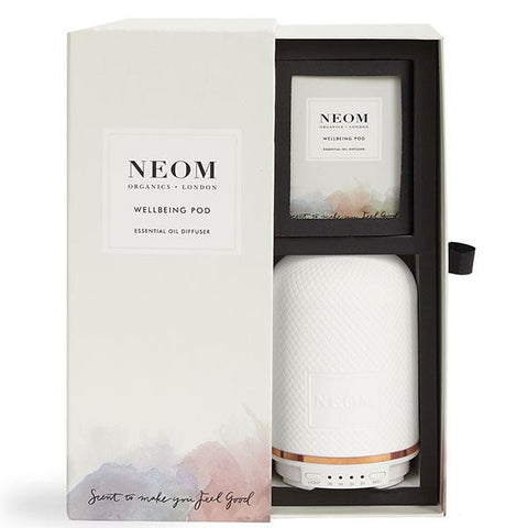 Neom Organics WELLBEING POD Essential Oil Diffuser electric - humidifies the air & gives your home natural scent of wellbeing