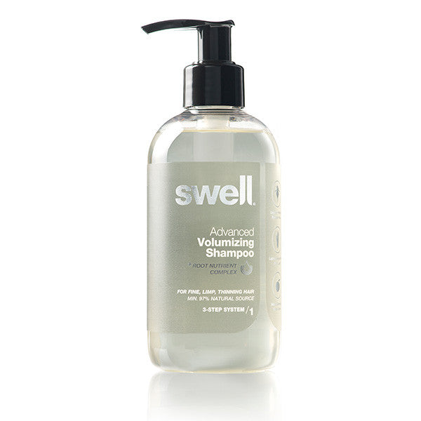 Swell Advanced Volumizing Shampoo, 250ml - SLS-free, all hair types, especially dry, thin, frizzy