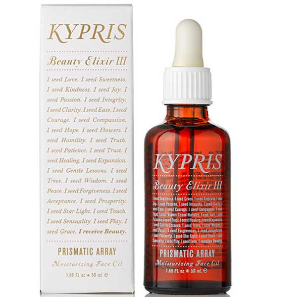 Kypris Beauty Elixir III Prismatic Array 50ml - gentle moisture oil without essentials oils for ultra sensitive skin