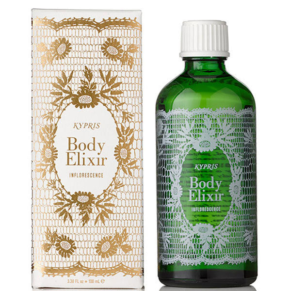 Kypris Body Elixir Inflorescence, 100ml - luxury body oil w/Neroli Sweet Orange blossoms