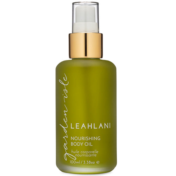 Leahlani Skincare GARDEN ISLE Nourishing Body Oil, 100ml - moisturising & repairing, 100% natural, exotic tropical blend