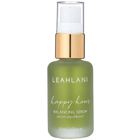 Leahlani Skincare HAPPY HOUR Balancing Serum, 30ml - face oil to reduce redness & calm inflammation