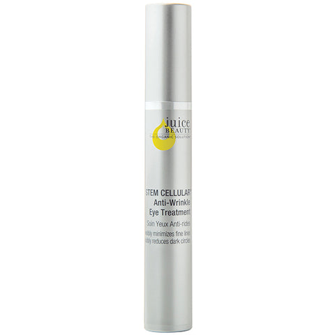 Juice Beauty STEM CELLULAR Anti-Wrinkle Eye Treatment, 25ml - clinically validated, fruit stem cells & Vitamin C infused into organic resveratrol-rich juices to to reduce dark circles & fine lines around eyes & upper lip area