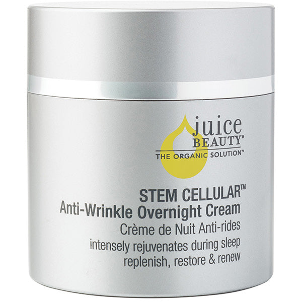 Juice Beauty STEM CELLULAR Anti-Wrinkle Overnight Cream, 50ml - clinically validated, intensive hydrating cream w/ advanced technology of Vitamin C & fruit stem cells, to help reduce the appearance of deep lines & wrinkles while sleeping