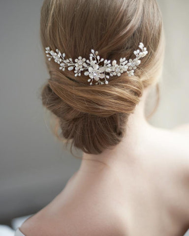 Sienna's Pearl Hair Comb - Victobelle
