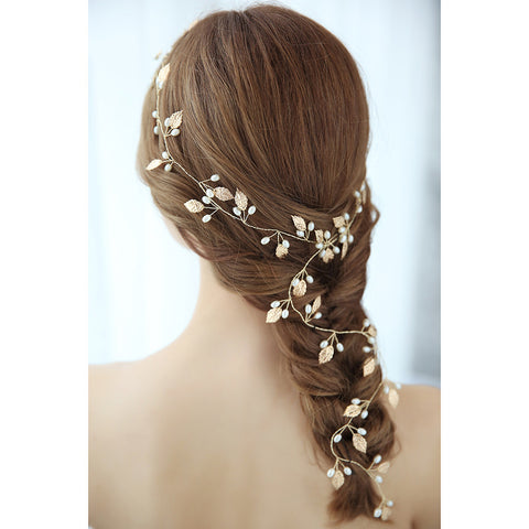 Summer Flower Bridal Hair Vine - Victobelle