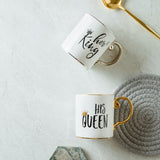 Coffee Mug Mr and Mrs Creative Wedding Gift - Victobelle