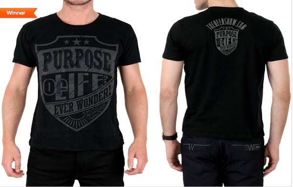 Shield Purpose T-Shirt