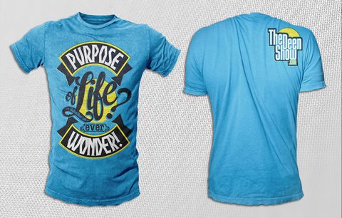 Blue Purpose T-Shrit