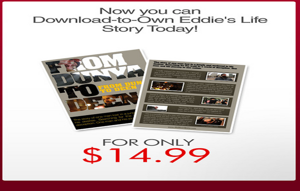 Download-to-Own Eddie's life story today!