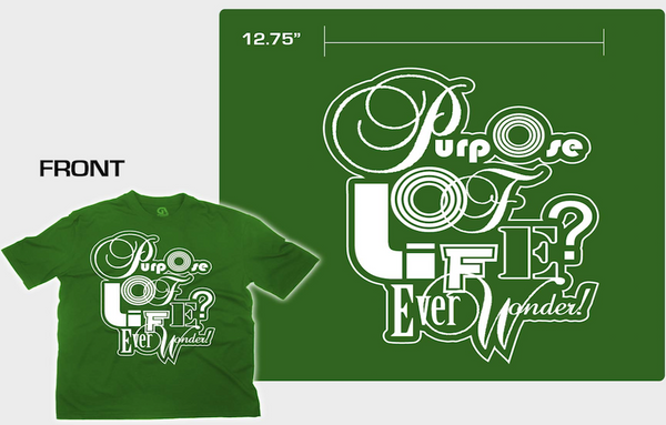 Green Cascade Purpose T-Shrit