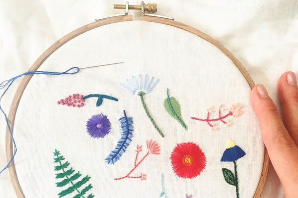 Hand Embroidery Tips: Selecting a Hoop