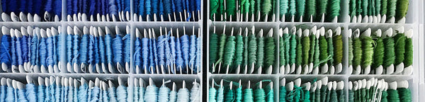 Hand Embroidery Tips: Organizing Your Threads
