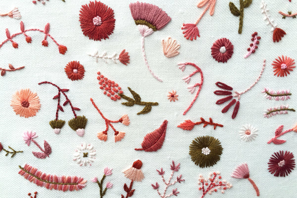 More Details About My Hand Embroidery for House Beautiful Magazine