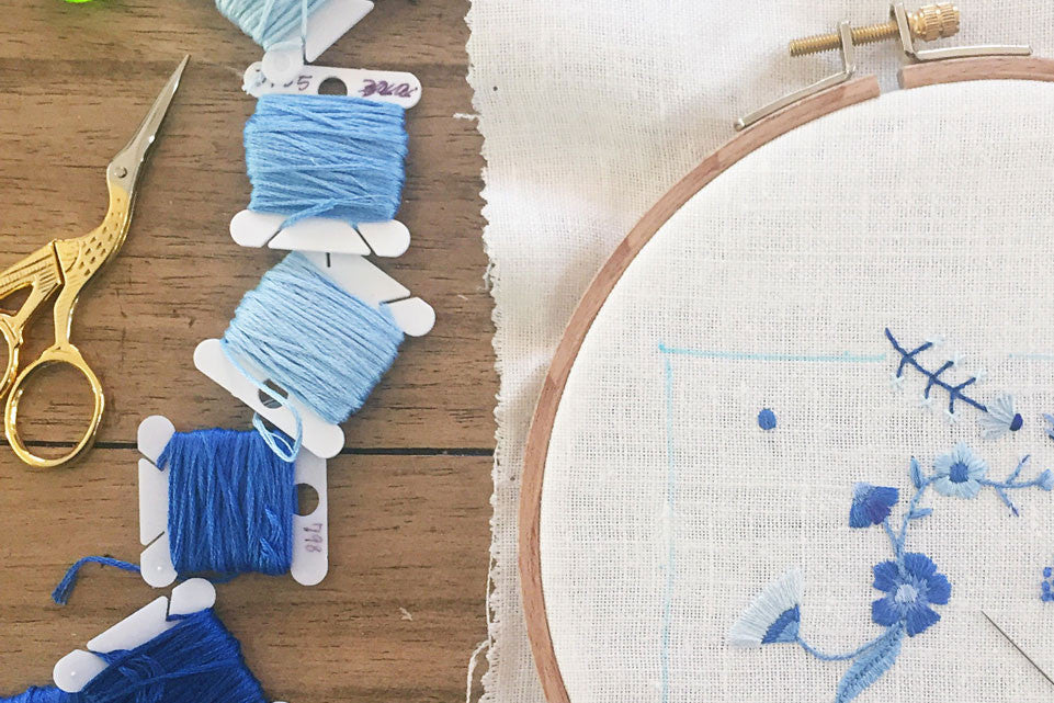 Hand Embroidery Tips: All About Scissors