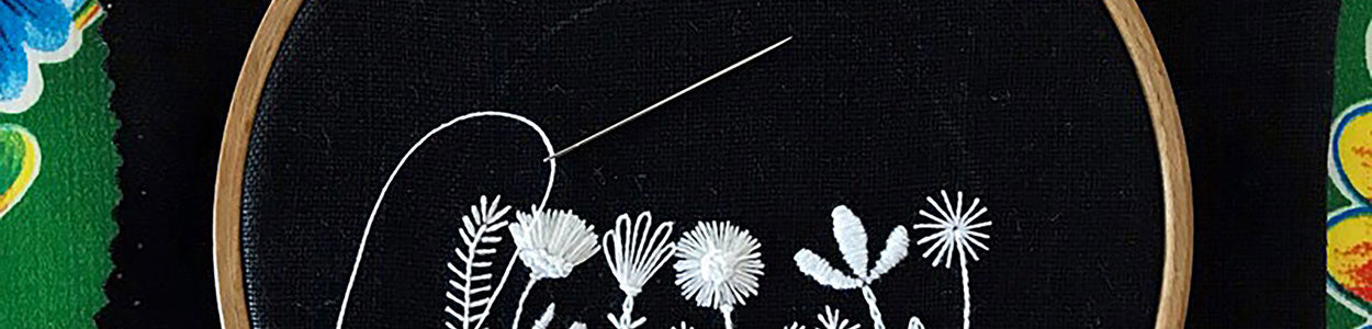 New Black and White Hand Embroidery Coming Soon