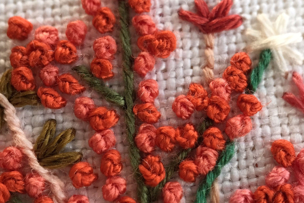 French Knots Up Close!