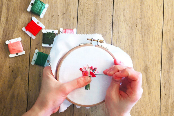 The Slow and Delicate Art of Hand Embroidery