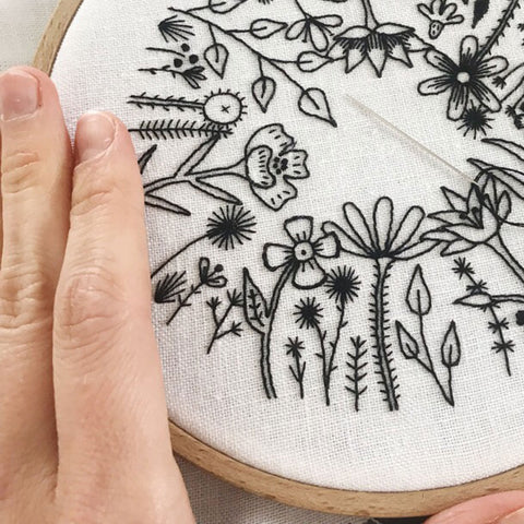 Happy Cactus Designs Hand Embroidery