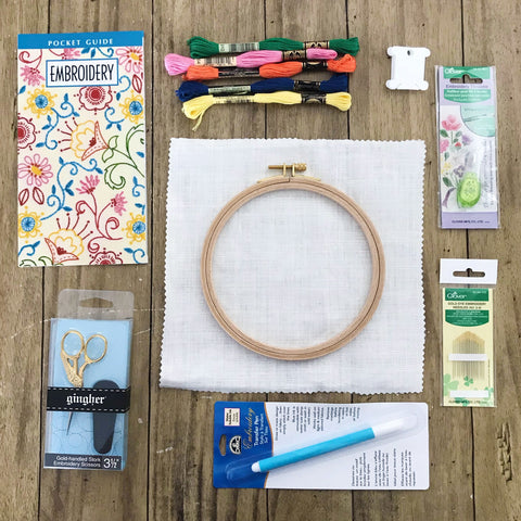 Happy Cactus Designs Hand Embroidery Essentials Guide - Embroidery Essentials Giveaway