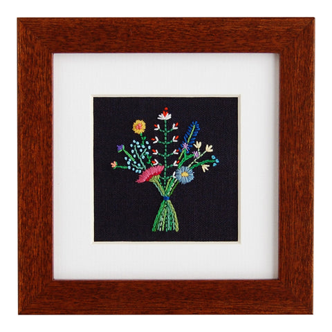 Happy Cactus Designs Hand Embroidered Artwork. Design copyright Happy Cactus Designs LLC and may not be reproduced without permission.