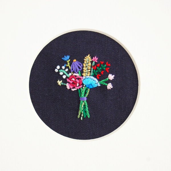 Happy Cactus Designs Hand Embroidered Artwork