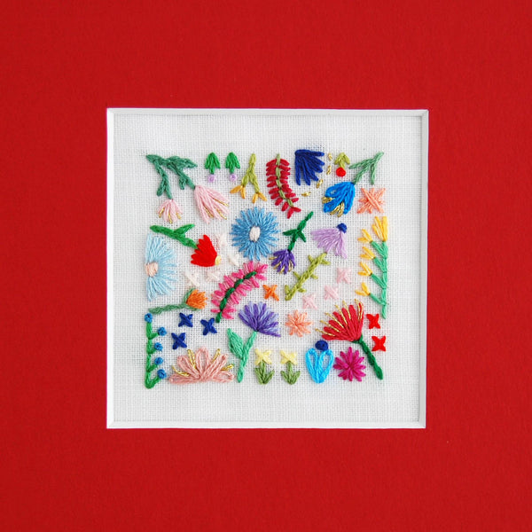 Hand Embroidery by Happy Cactus Designs