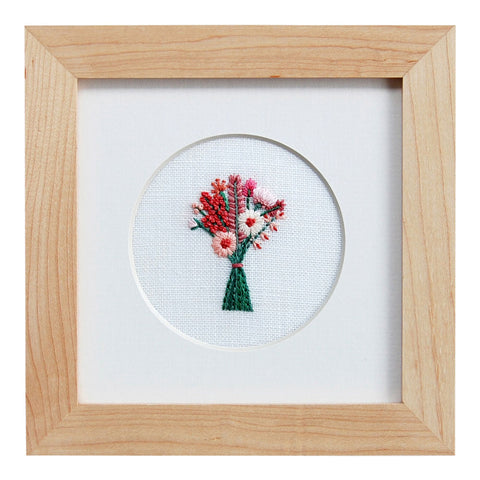 Happy Cactus Designs Hand Embroidered Artwork. Image and design copyright Happy Cactus Designs LLC.