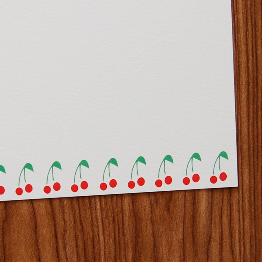 Cherries Flat Card Set