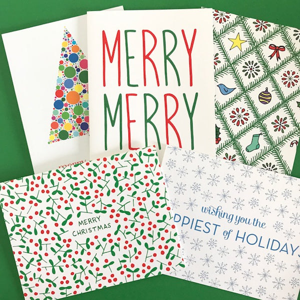 Bundle 3 - Christmas Cards (10 Cards)