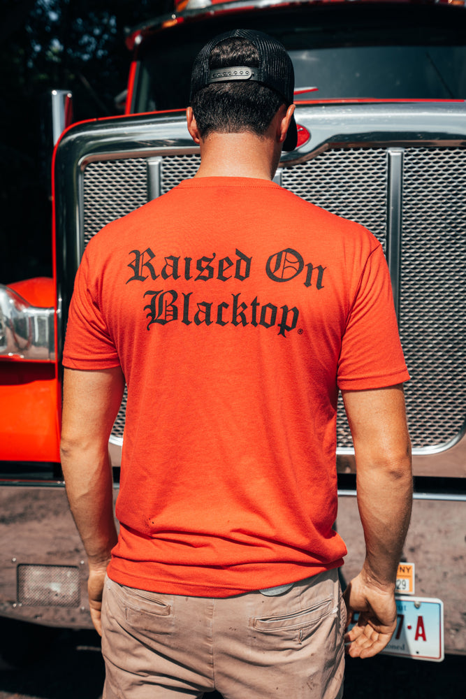 RAISED ON BLACKTOP x AMERICAN PAVEMENT CREW TEE