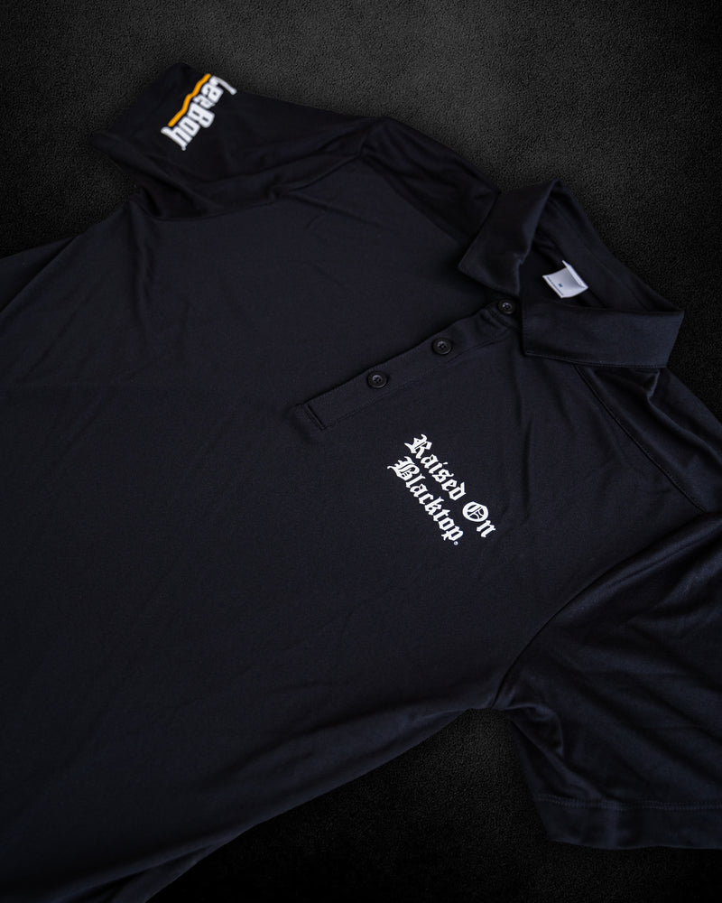 RAISED ON BLACKTOP x LEEBOY DRI-FIT GOLF POLO