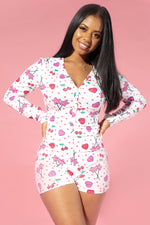 Cherry Hearts Onesie