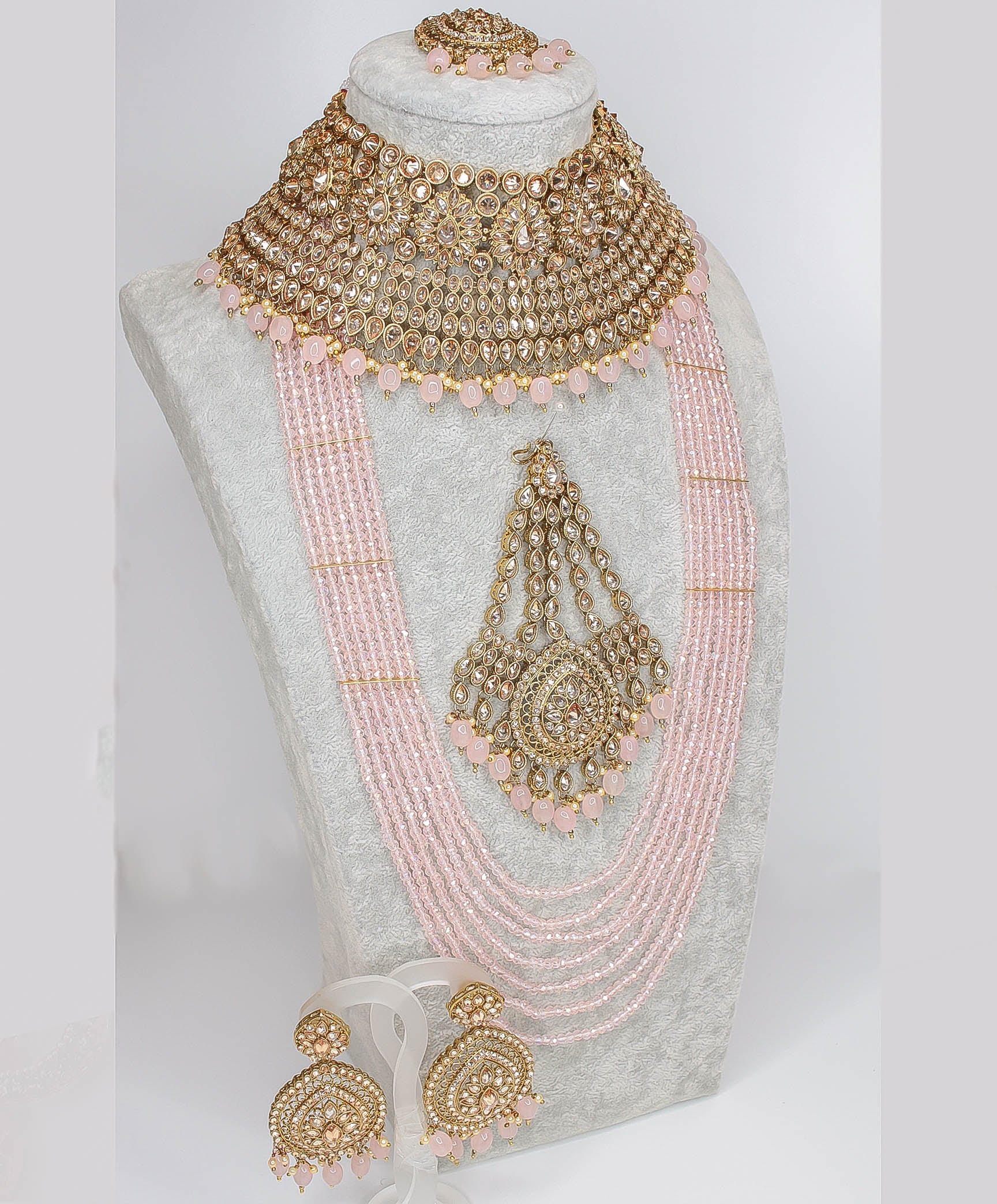Mukta Statement Bridal Choker set