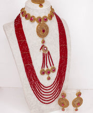 Load image into Gallery viewer, Janaan  Semi Precious Bridal set