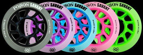 ATOM Poison Savant 59mm x 38mm 4pk